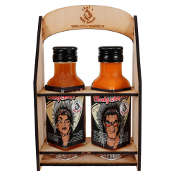 Box for 2 chili sauces